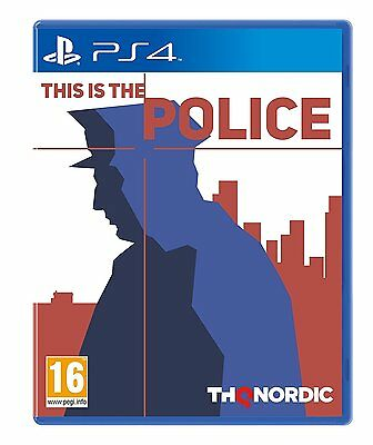 PS4 PlayStation 4 This is the Police Brand New Sealed Game