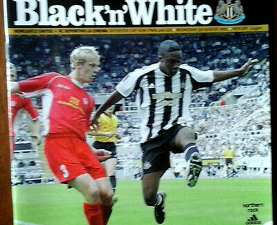 Newcastle V Deportivo 3/8/2005 Uefa Intertoto Cup Semi Final
