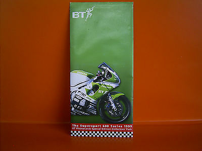 BT Phonecards Special Edition Collectors' Pack - The Supersport 600 Series 1999