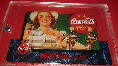 1995 Coca-Cola Limited Edition Cell Card Printers Proof 1 Of 650!