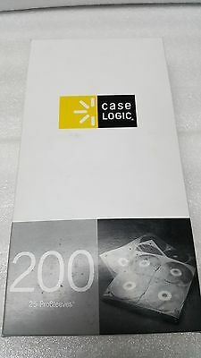 Case Logic CDP-200 CD ProSleeve Pages 200 Disc Capacity (White)