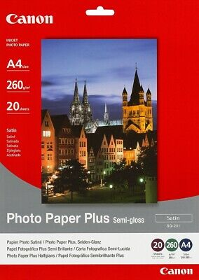 Canon new Semi-Gloss Photo Paper A4 (20pk)