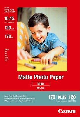 "Canon new Matte Photo Paper 4""x6"" (120 Sheets)"