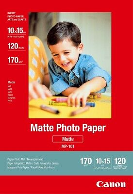 "Canon new Matte Photo Paper 4""x6"" (120pk)"