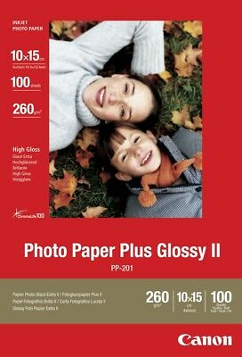 "Canon new Photo Paper Plus Glossy II 4""x6"" (100pk)"