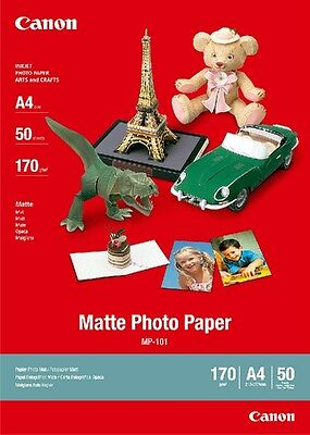 Canon new Matte Photo Paper A4 (50pk)