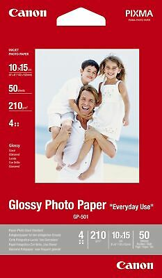 "Canon new Glossy Photo Paper 4""x6"" (50pk)"