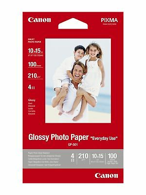 "Canon new Glossy Photo Paper 4""x6"" (100pk)"