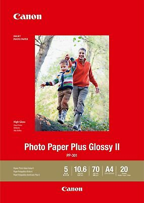 Canon new Photo Paper Plus Glossy II A4 (20 Sheets)