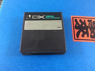 Yamaha DX7 Rom Cartridge Master Group Keyboard And Plucked Groups #1