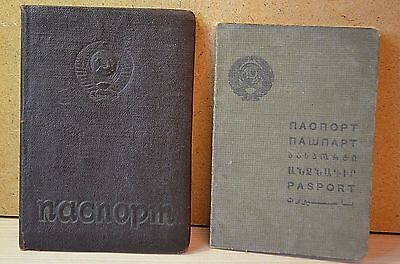 The old document. Passport of the USSR. 1939