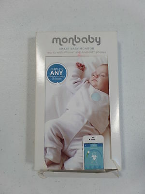 Baby Monitor for Breathing and Movement (White) Brand new Sealed