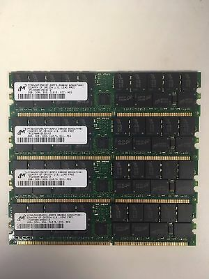 8gb kit (4 x 2gb) PC2700R ECC REG - Server Memory - Pulled from HP DL360 G4