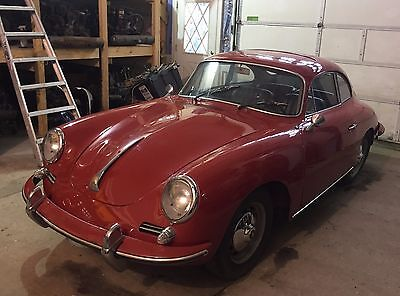 1962 Porsche 356 Coupe' 1962 Porsche 356 B Sunroof Super 90 Coupe --Matching Numbers--