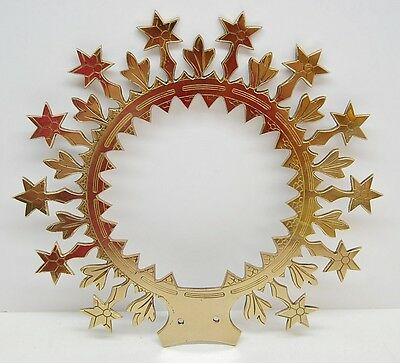 """Halo, Crown For Religious, Church Statue - 6 1/2""""  -355- (Mary Jesus Saint)"""