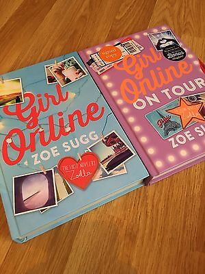 Zoella Girl Online and Girl Online On Tour SIGNED