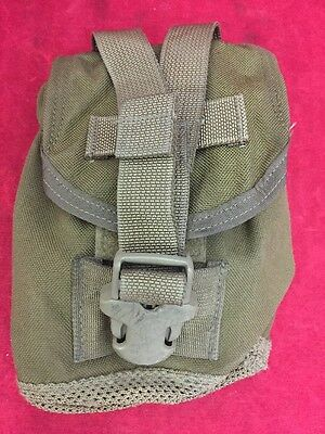 ONE USGI OD Olive Drab Canteen Pouch Good Condition