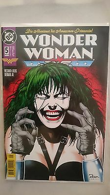 DC Wonder Woman #5 / 1998 Dino NM Neu/New Bagged/Board RARE !!