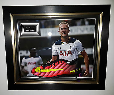 ** NEW HARRY KANE of Tottenham Signed Football Boot*** Autograph Dome Display