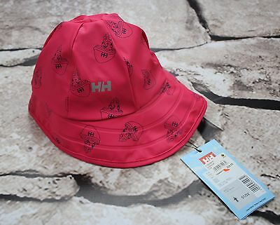 """Helly Hansen """"Explorer Souwester"""" lined South western for children in pink size2"""