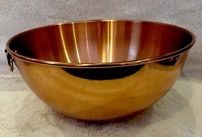 Round Bottom Mixing Bowl Copper Mold by The Cooks Bazaar Decorative Wall Hanger