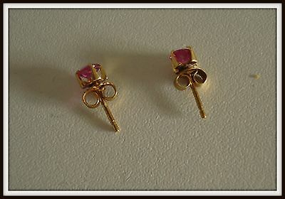 Petites boucles d'oreille en or 18 carat Gold jewelry earrings