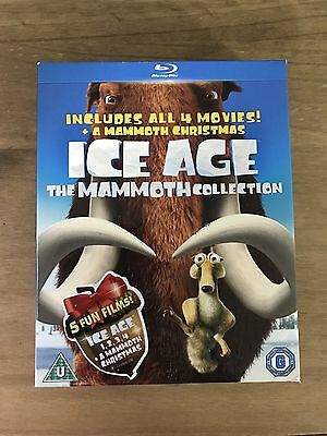 Ice Age: The Mammoth Collection (Includes Ice Age 1, 2, 3, 4 & Special) Blu-Ray