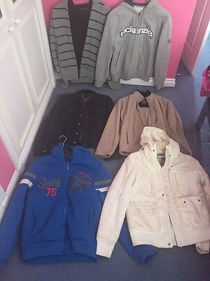 Job Lot Of Hoodys/coats Good Conditon