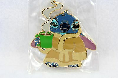 Disney Auctions Alice in Wonderland Stitch Morning Coffe LE 500 Pin