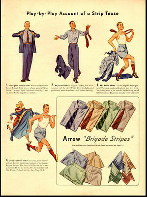 1936 vintage ad for Arrow Shirts -570