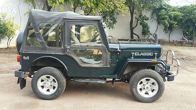 Stitched Soft Top For Jeep Mahindra Cj340 Mahindra Classic Cl340 Black & Gray