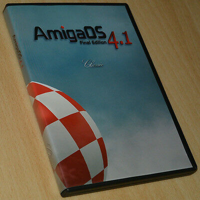 AmigaOS Final Edition 4.1 Classic by Hyperion ~ Commodore ~ sehr guter Zust./VGC