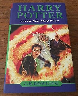 Harry Potter and the Half-Blood Prince J.K. Rowling HC