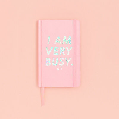Ban.do - 2017-2018 Agenda / Planner - Bando - I Am Very Busy - Classic Agenda