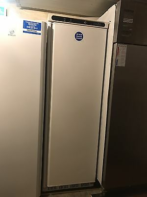 NEW - Polar 400 Litre White Single Door Fridge Commercial Refrigerator Catering
