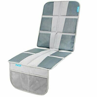 Baby Car Seat Protector Enhanced Padded Booster Cover For Vehicles Grey