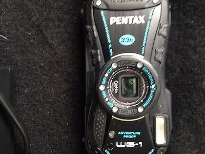 Pentax Optio WG-1 14.0MP Digital Camera - Black