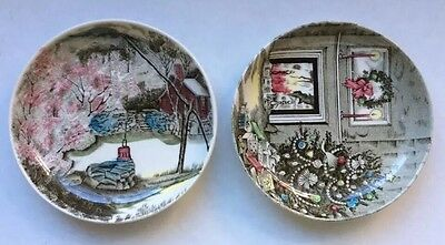 Lot of 2 JOHNSON BROS. MADE IN ENGLAND PORCELAIN SMALL PLATE/DISH