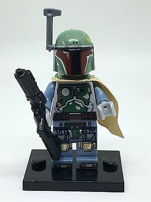 Star Wars BOBA FETT Minifigure New - Free LEGO Item - Free UK POST