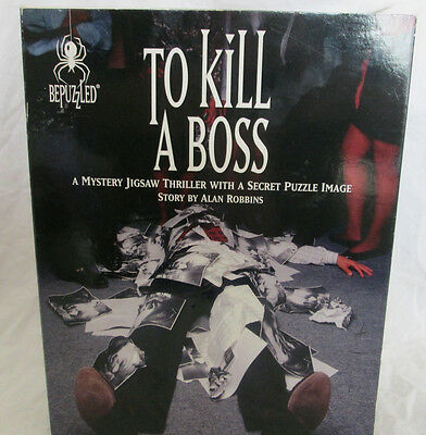 USED (LN) To Kill a Boss: A Mystery Jigsaw Thriller with a Secret Puzzle Image