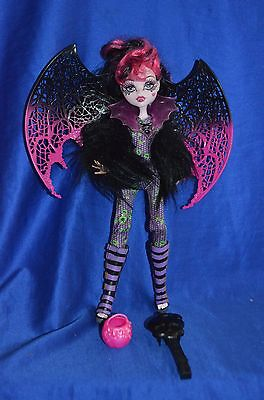 Beautiful Monster High Doll Draculaura  and Accessories.