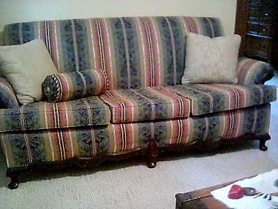 antiques Sofa, 1940's, multi color,good condition