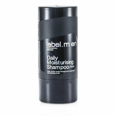 Label.M Men's Daily Moisturising Shampoo (Dual-Action Scalp Therapy and 300ml