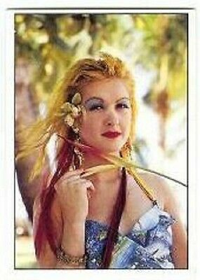 CYNDI LAUPER RARE ORIGINAL 1980s POP SMASH HITS TRADING COLLECTORS CARD