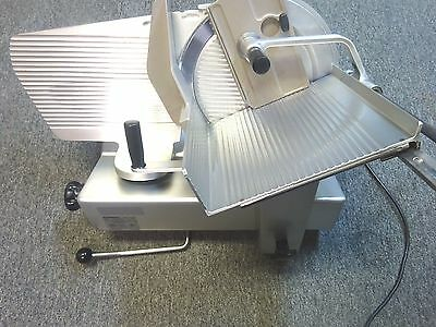 """Bizerba SE12D 12"""" Manual Commercial Deli Cheese Meat Slicer"""