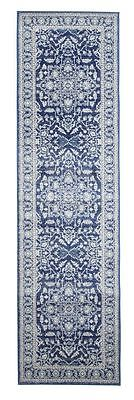 Hallway Runner Hall Rug Traditional Extra Long FREE DELIVERY Assorted Sizes Navy