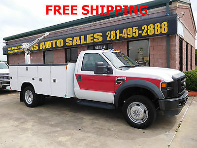 2009 Ford Other Pickups Utility Service Truck - Long Conventional 2-Door 2009 Ford F-550 Super Duty Utility Service Truck 11 FEET 6.4L diesel with crane