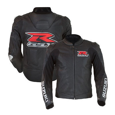 SUZUKI GSX Motorcycle Leather Jacket Motorbike Leather Jacket Riding jacket