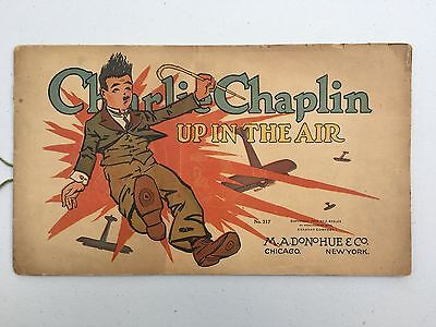 Charlie Chaplin Up in the Air (1917) Very Rare & 100 Years Old
