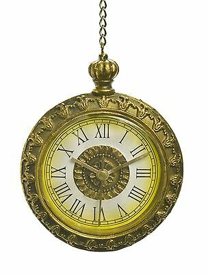 Antique Pocket Watch Hanging Christmas Tree Ornament